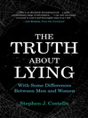 The Truth about Lying (eBook): With Some Differences between Men and Women
