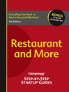Restaurant and More (eBook): Entrepreneur's Step by Step Startup Guide