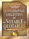 Uncle John's Bathroom Reader Quintessential Collection of Notable Quotables (eBook): For Every Conceivable Occasion