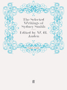The Selected Writings of Sydney Smith (eBook)
