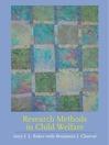 Research Methods in Child Welfare (eBook)