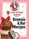 Circle of Friends Cookbook 25 Brownie & Bar Recipes (eBook)