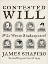 Contested Will (eBook): Who Wrote Shakespeare?