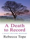 A Death to Record (eBook): Den Cooper Series, Book 3