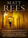 The Bethlehem Murders, The Saladin Murders, and The Samaritan's Secret (eBook): Omar Yussef Series, Books 1, 2, and 3