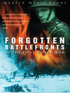Forgotten Battlefronts of the First World War (eBook)