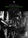 Pillars of the Community (eBook): in a version