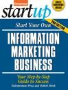 Start Your Own Information Marketing Business (eBook)