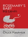 Rosemary's Baby (eBook): Introduction by Chuck Palanhiuk