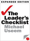 The Leader's Checklist (eBook): 15 Mission-Critical Principles