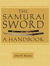 The Samurai Sword (eBook): A Handbook