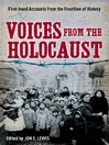 Voices from the Holocaust (eBook)