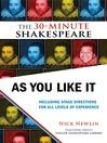 As You Like It (eBook)