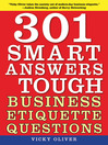 301 Smart Answers to Tough Business Etiquette Questions (eBook)