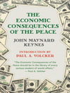 The Economic Consequences of Peace (eBook)