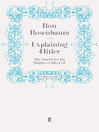 Explaining Hitler (eBook): The Search for the Origins of His Evil