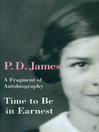 Time to Be in Earnest (eBook)