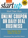 Start Your Own Online Coupon or Daily Deal Business (eBook)