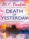Death of Yesterday (eBook): Hamish Macbeth Mystery Series, Book 28