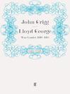 Lloyd George (eBook): War Leader, 1916-1918