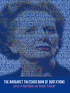 The Margaret Thatcher Book of Quotations (eBook)