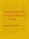 Adventures of Huckleberry Finn (eBook)