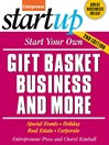 Start Your Own Gift Basket Business and More (eBook)