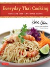 Everyday Thai Cooking (eBook): Quick and Easy Family Style Recipes