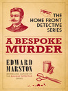 A Bespoke Murder (eBook): Inspector Harvey Marmion and Sergeant Joe Keedy Series, Book 1