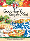 Good-for-You Everyday Meals Cookbook (eBook)