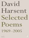 Selected Poems David Harsent (eBook)