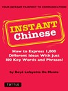 Instant Chinese (eBook): How to Express 1,000 Different Ideas with Just 100 Key Words and Phrases! (Mandarin Chinese Phrasebook)