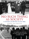 No Such Thing as Society (eBook)