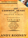 Common Nonsense (eBook)