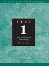 Step 1 AA The Foundation of Recovery (eBook)