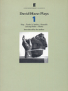 David Hare Plays 1 (eBook): Slag, Teeth 'n' Smiles, Knuckle, Licking Hitler, Plenty