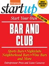 Start Your Own Bar and Club (eBook)
