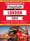 Frommer's EasyGuide to London 2014 (eBook)