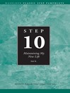 Step 10 AA Maintain My New Life (eBook)