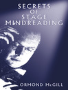 Secrets of Stage Mindreading (eBook)
