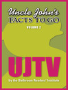 Uncle John's Facts to Go UJTV (eBook)