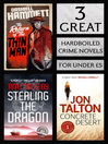 3 Great Hardboiled Crime Novels (eBook): Return of the Thin Man, Stealing the Dragon, Concrete Desert