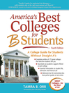 America's Best Colleges for B Students (eBook): A College Guide for Students Without Straight A's