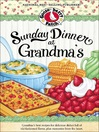 Sunday Dinner at Grandma's Cookbook (eBook)