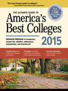 The Ultimate Guide to America's Best Colleges 2015 (eBook)