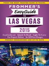 Frommer's EasyGuide to Las Vegas 2015 (eBook)