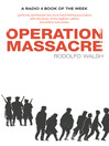 Operation Massacre (eBook)