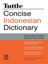 Tuttle Concise Indonesian Dictionary (eBook): Indonesian-English English-Indonesian