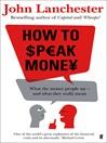 How to Speak Money (eBook)