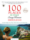 100 Places in Italy Every Woman Should Go (eBook)